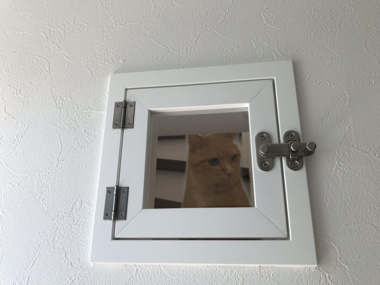 扉付きねこ扉