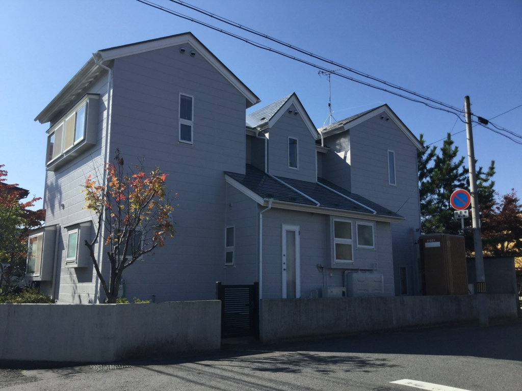 【リフォーム】 外部塗装工事 奥州市 K様邸