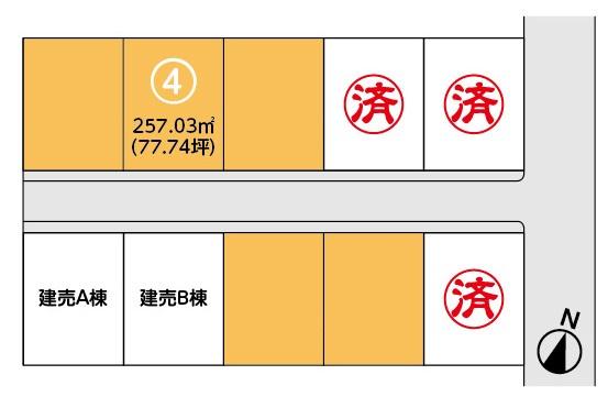 【分譲地】胆沢郡金ケ崎町西根 分譲地④・アイキャッチ画像