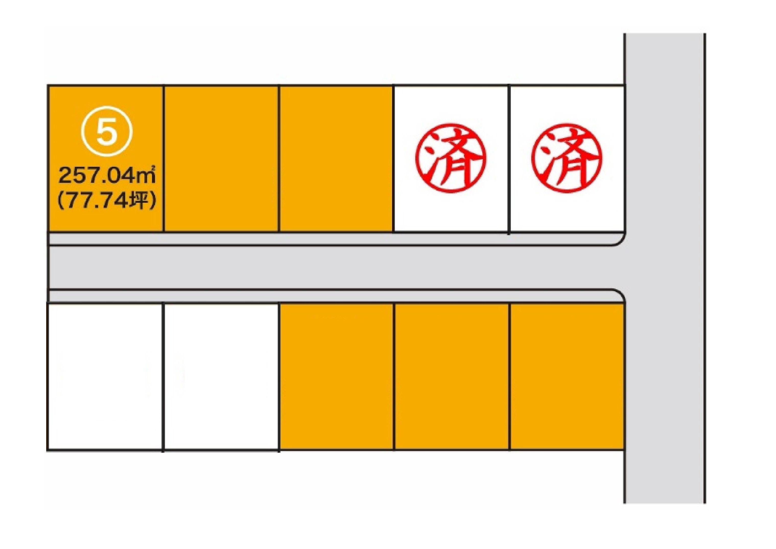 【分譲地】胆沢郡金ケ崎町西根 分譲地⑤・アイキャッチ画像