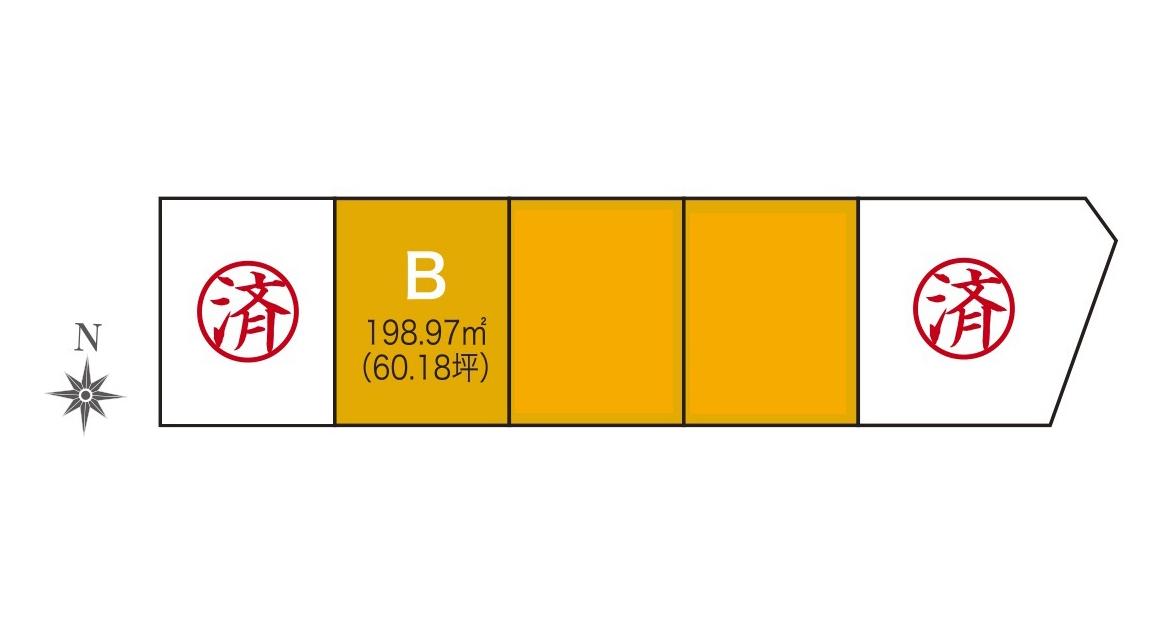 【分譲地】奥州市水沢谷地明円 分譲地B・アイキャッチ画像