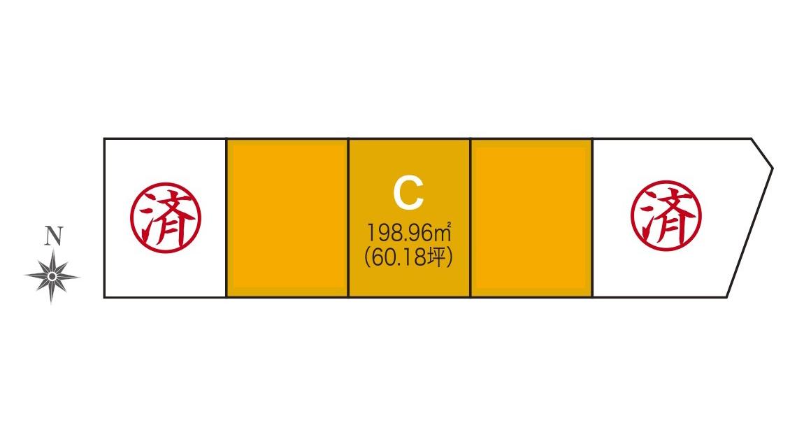 【分譲地】奥州市水沢谷地明円 分譲地C・アイキャッチ画像