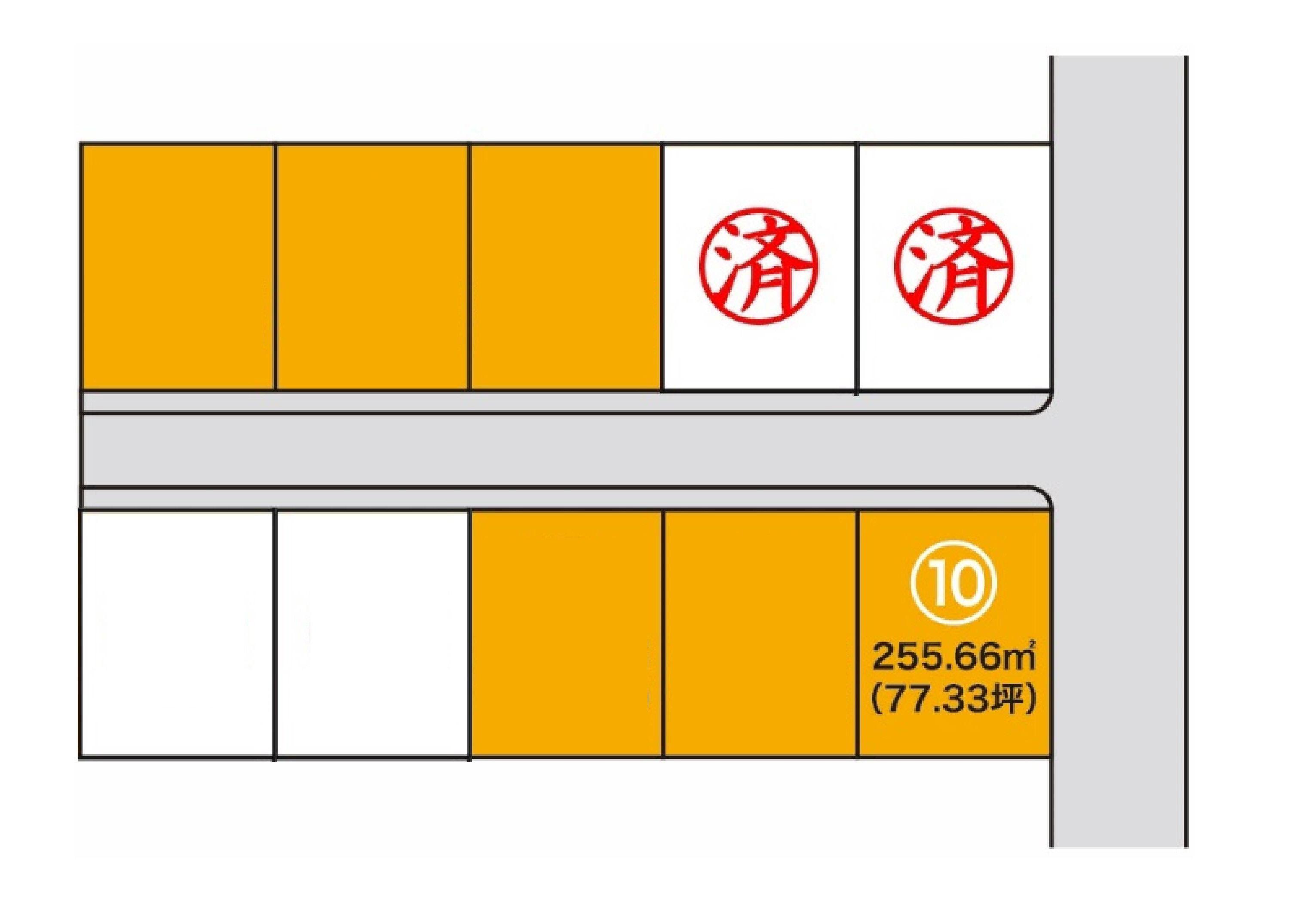 【分譲地】胆沢郡金ケ崎町西根 分譲地⑩・アイキャッチ画像