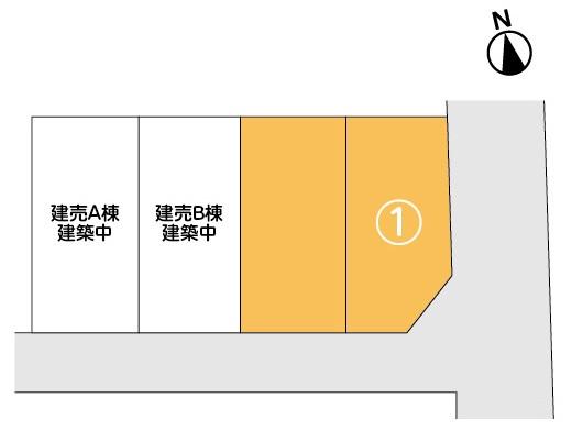 【分譲地】奥州市江刺岩谷堂二本木 分譲地①・アイキャッチ画像